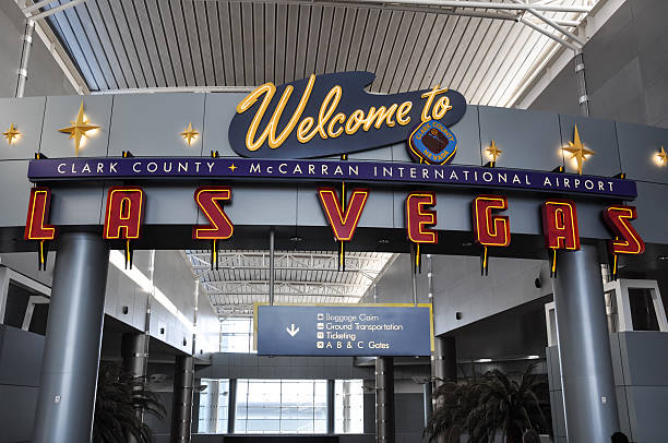 clark county mccarran international airport - las vegas, usa - clark county nevada stock pictures, royalty-free photos & images