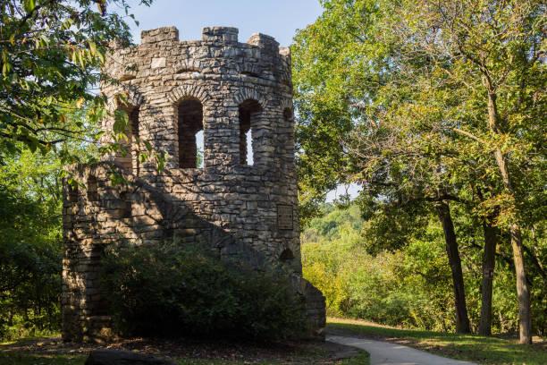 Clark Tower stock photo