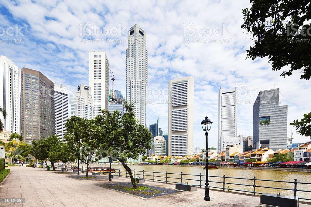 Clarke Quay, Singapore royalty-free stock photo
