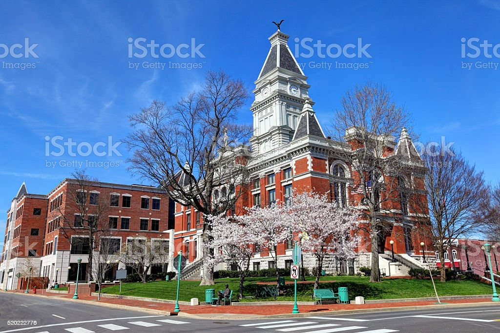 Clarksville, Tennessee stock photo