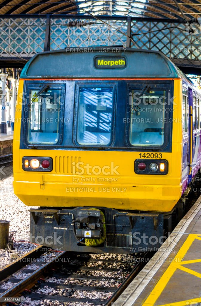 Class 142 Pacer DMU stock photo