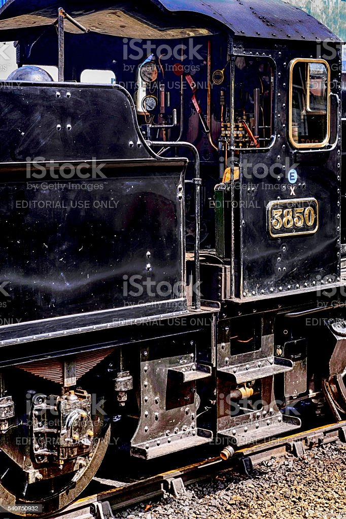 1903 2-8-0 Class 2884 Steam locomotive at Minehead UK stock photo