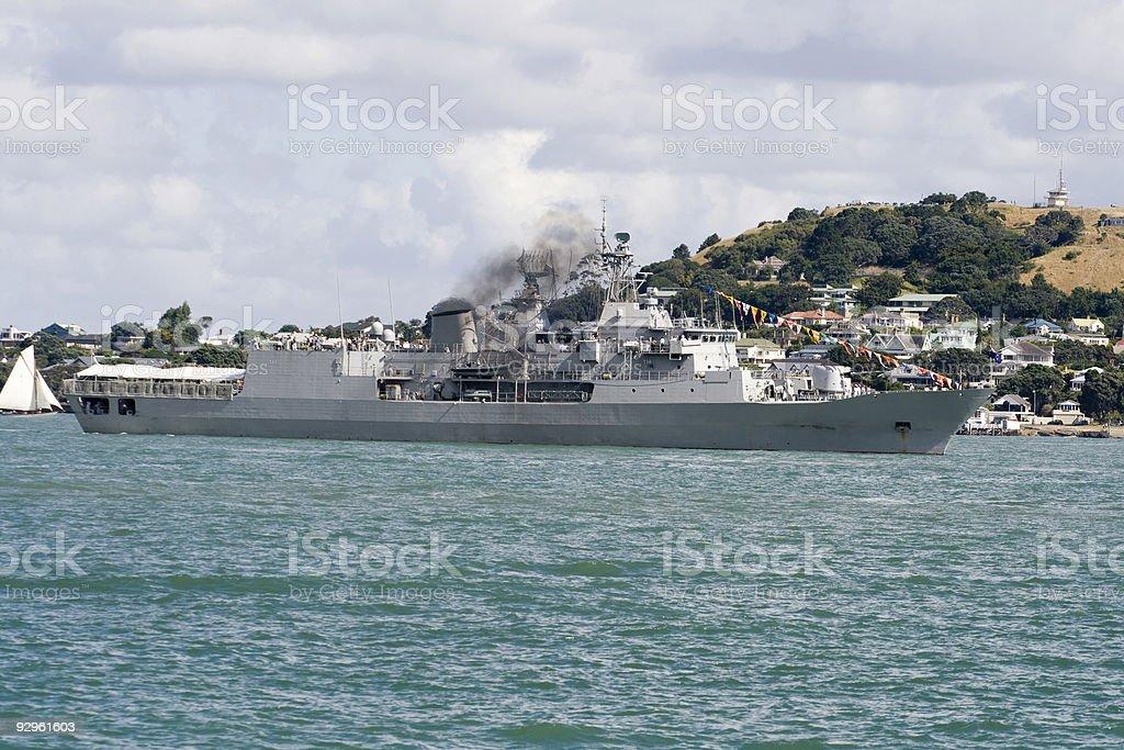 ANZAC class frigate royalty-free stock photo