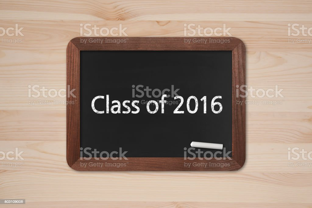 Class Of 2016 Business Chalkboard Background Stock Photo More
