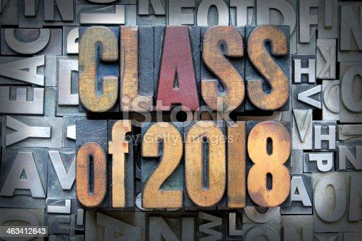 istock Class of 2018 463412643
