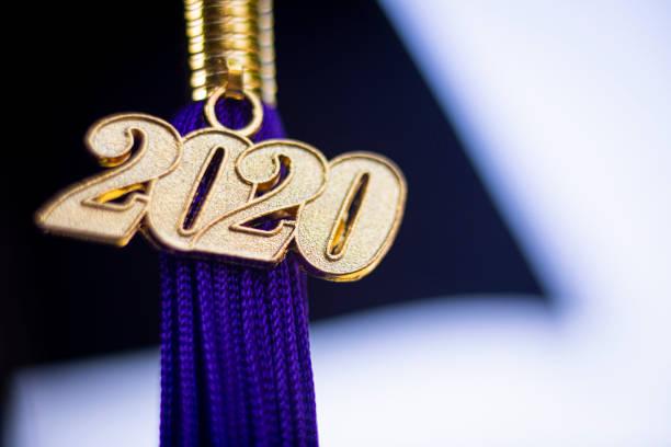 Klasse von 2020 Graduierung Satasse Schwarz – Foto