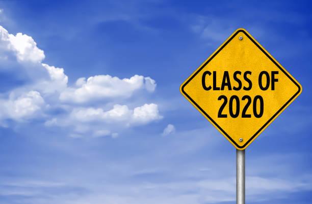 Klasse von 2020 - Verkehrszeichen-Meldung – Foto