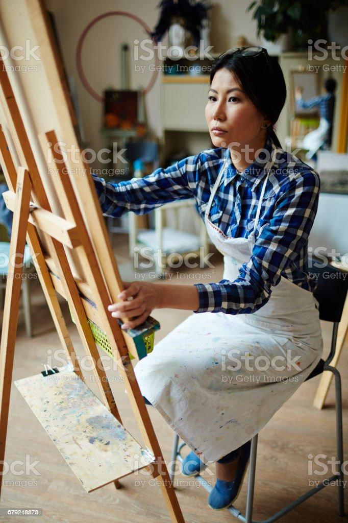 Class of drawing photo libre de droits