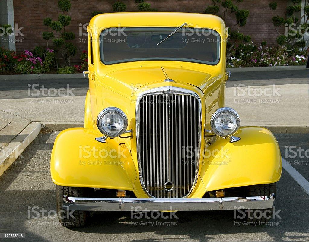 Classic 1930's Hotrod royalty-free stock photo