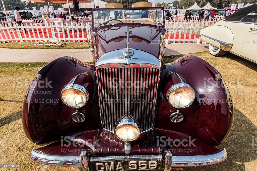 Classic 1948 Bentley Mark VI vintage car (MK6) stock photo