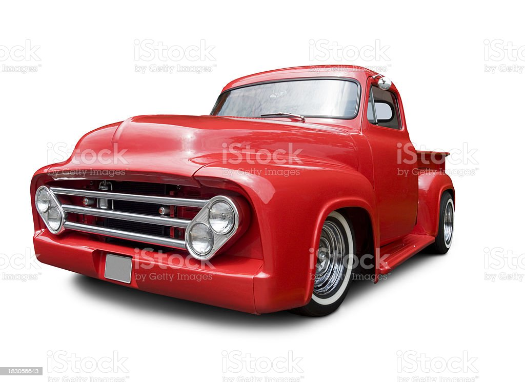 Classic 1950's Pick-up Truck royalty-free stock photo