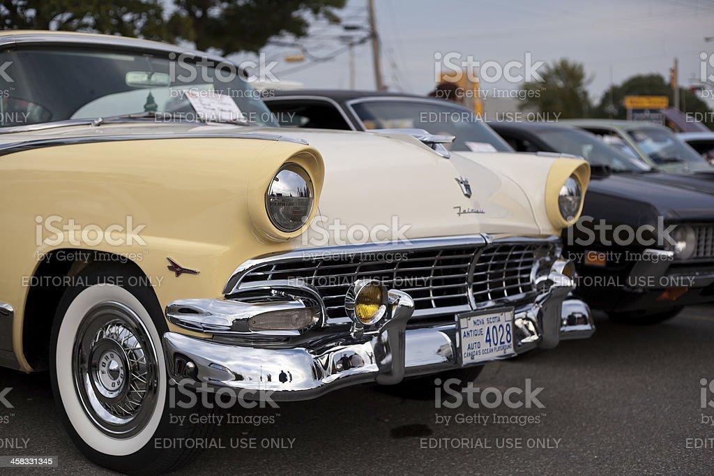 Classic 1956 Ford Fairlane stock photo