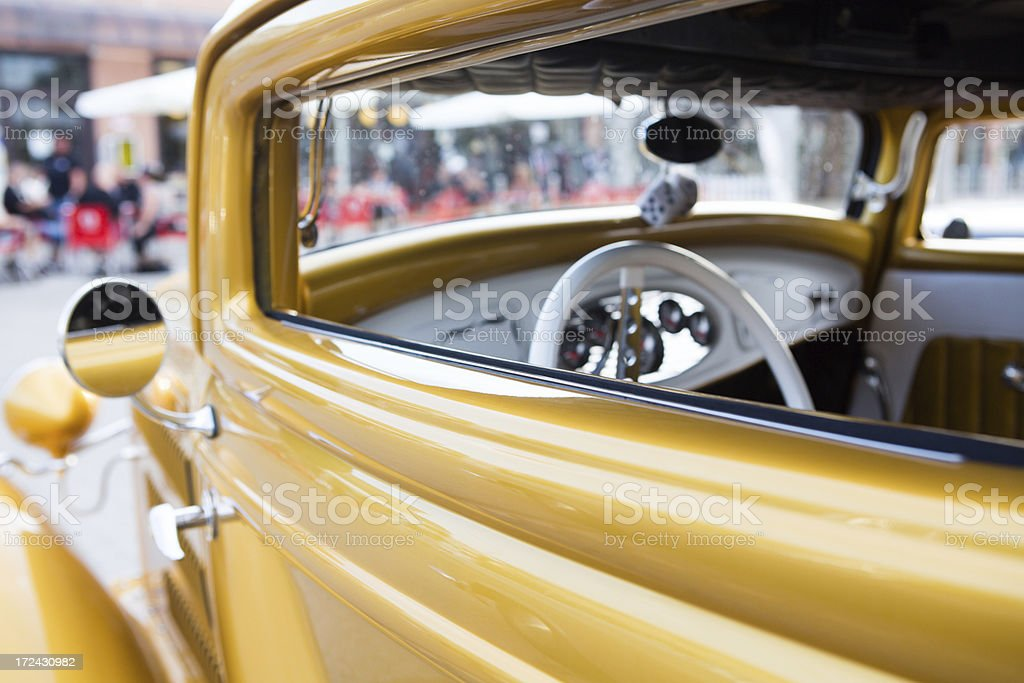 Classic 50's Car royalty-free stock photo