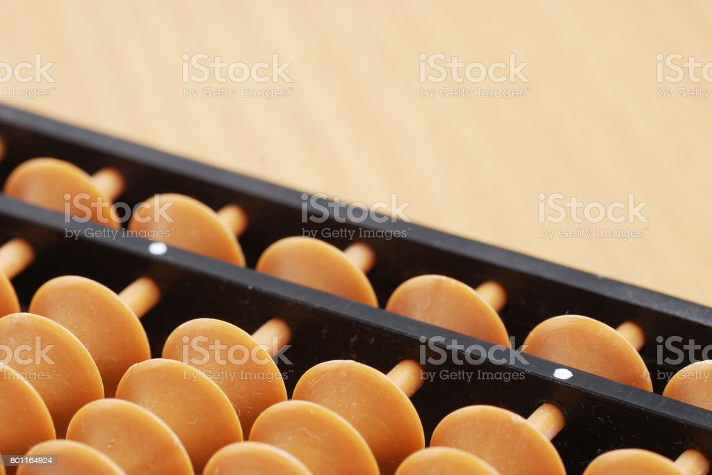 classic abacus stock photo