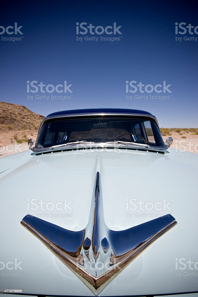 Classic American Automobile royalty-free stock photo