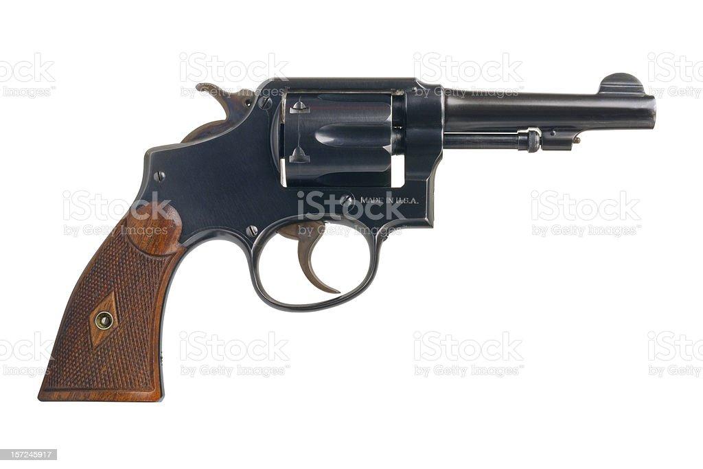Classic American Revolver stock photo