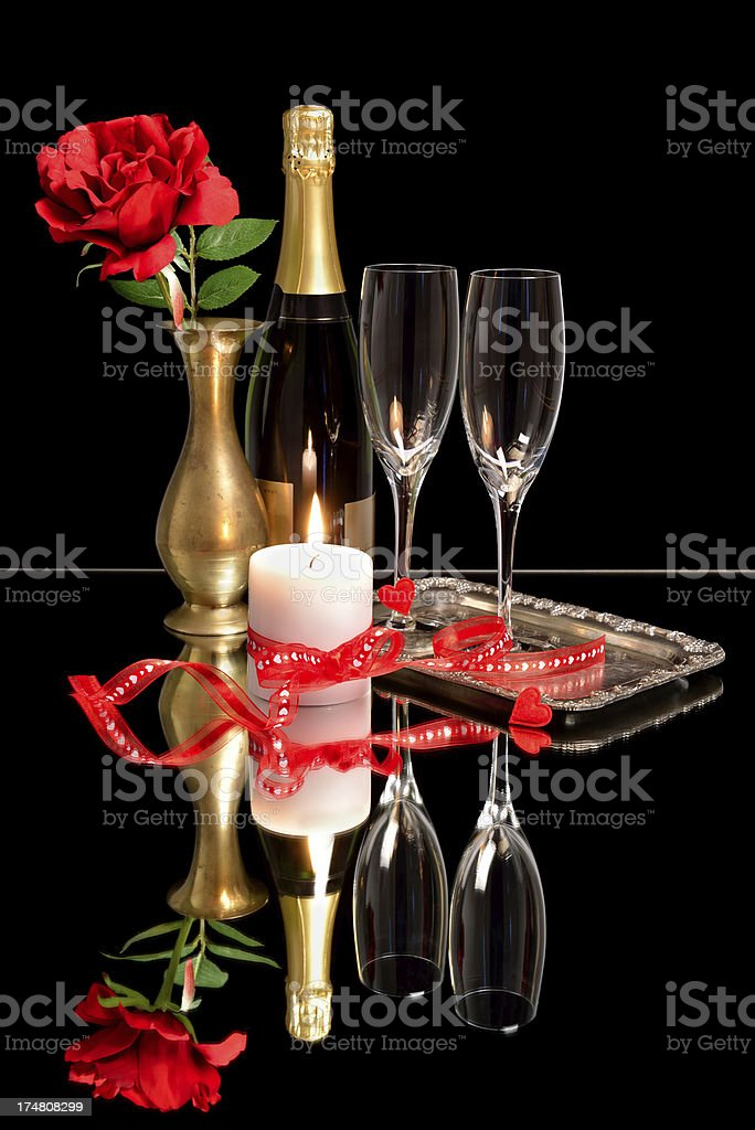 Classic and romantic Valentine's day royalty-free stock photo