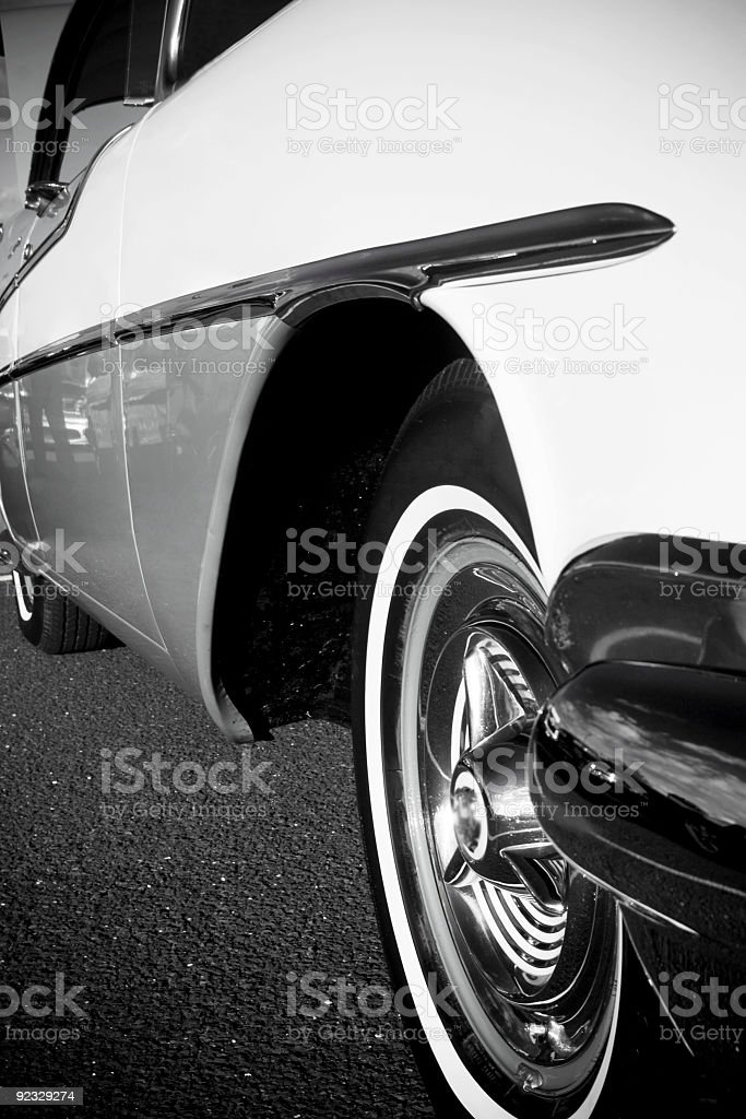 Classic antique car royalty-free stock photo