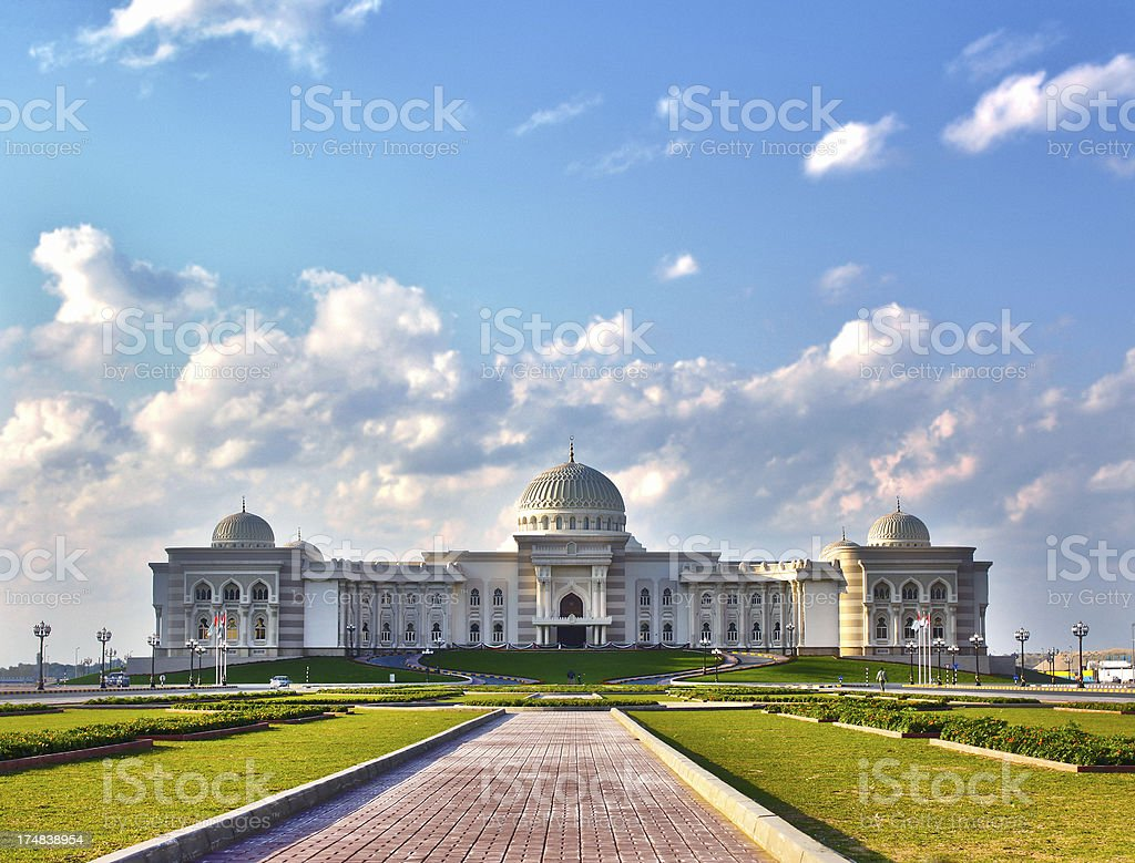 Classic Arabian style building stock photo
