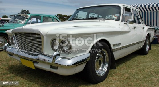 American built  Chrysler Valiant. Popular in Australia