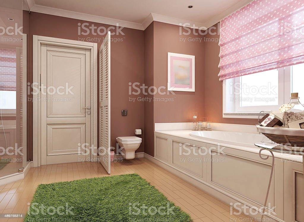 Klassische Badezimmer Für Mädchen Stock-Fotografie und mehr Bilder ...