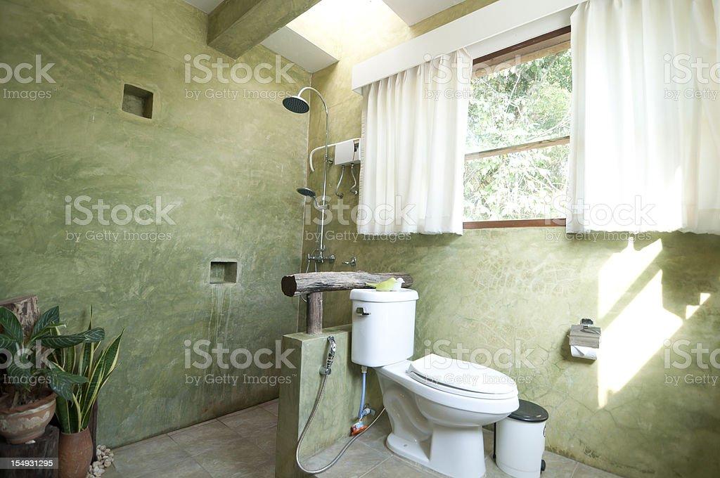 Classic bathroom home interior royalty-free stock photo