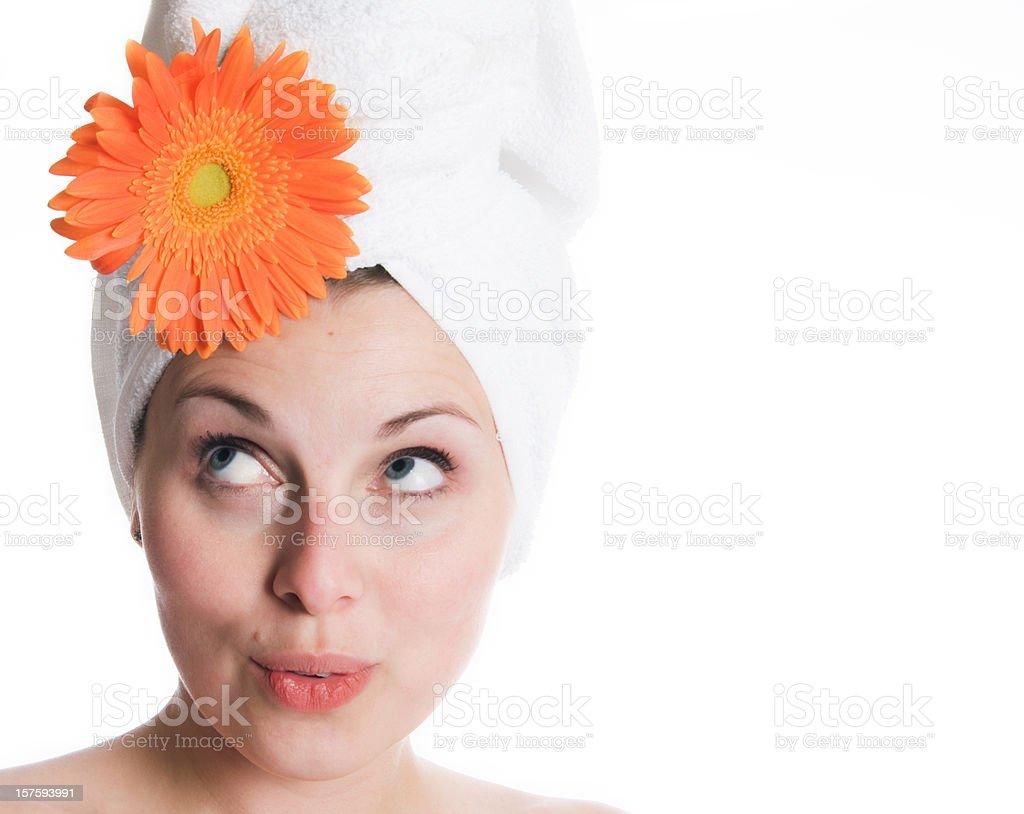 Classic Beauty Studio Series, Pretty Woman stock photo