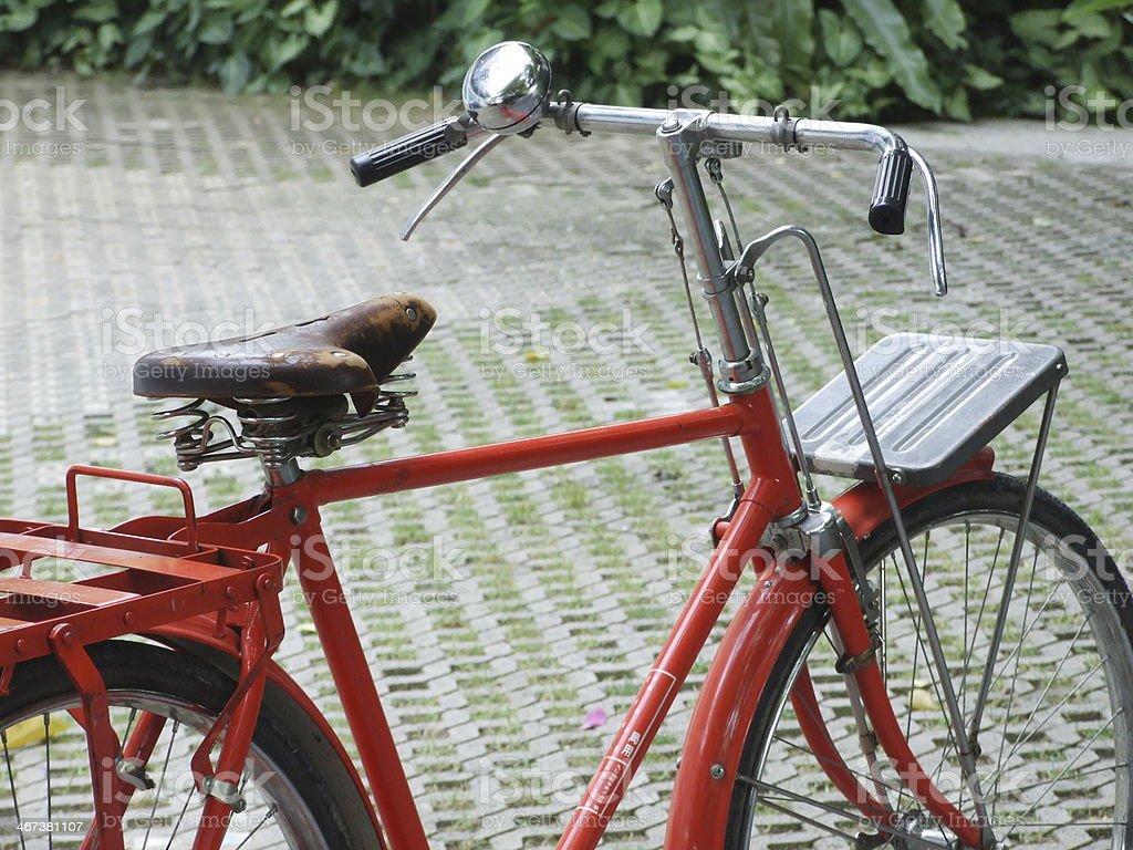 classic bicycle stock photo