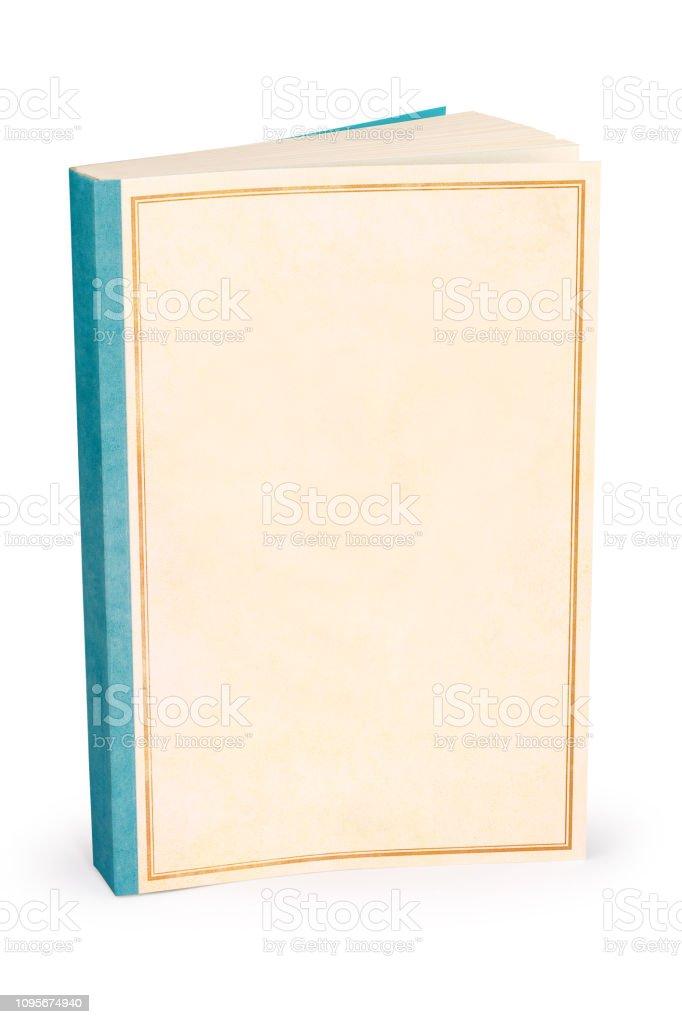Klassische leere Bucheinband - Clipping-Pfad – Foto