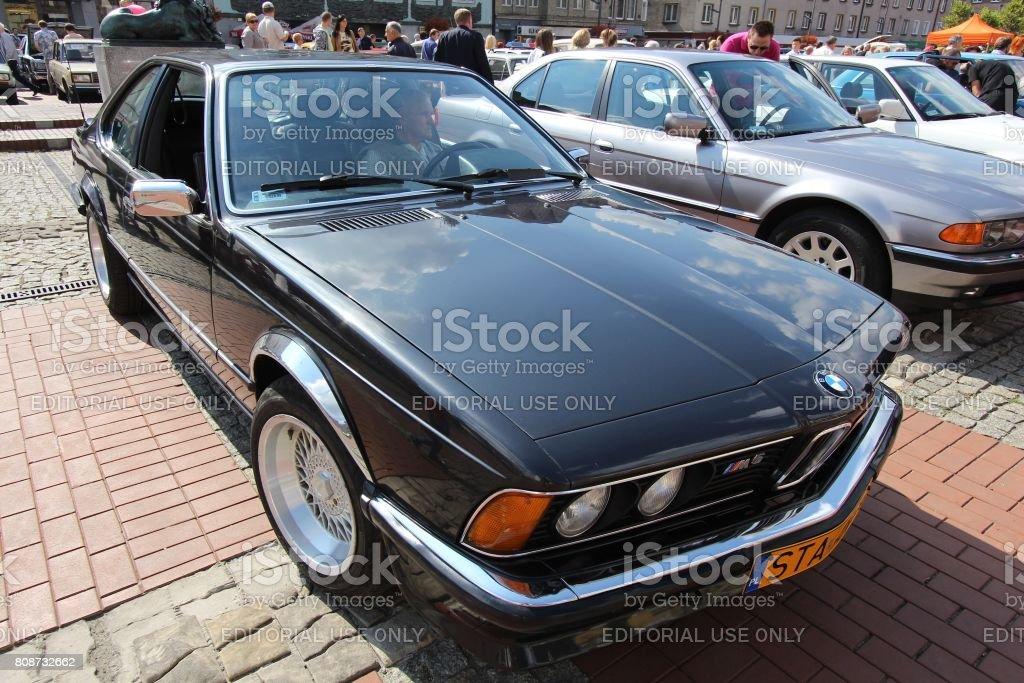 Classic BMW M6 stock photo