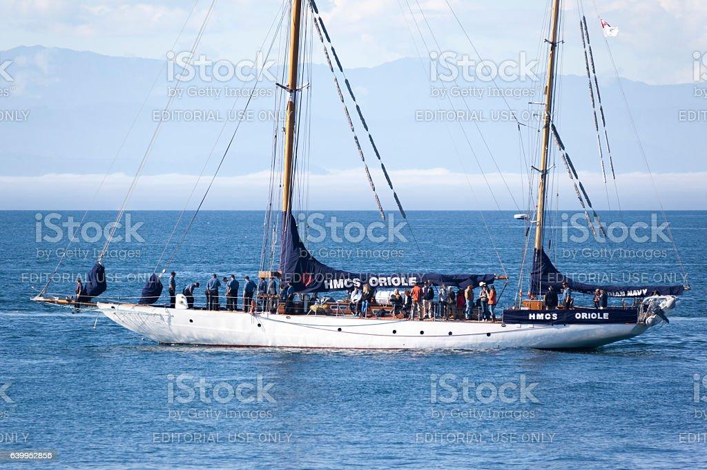 Classic Boat Festival stock photo