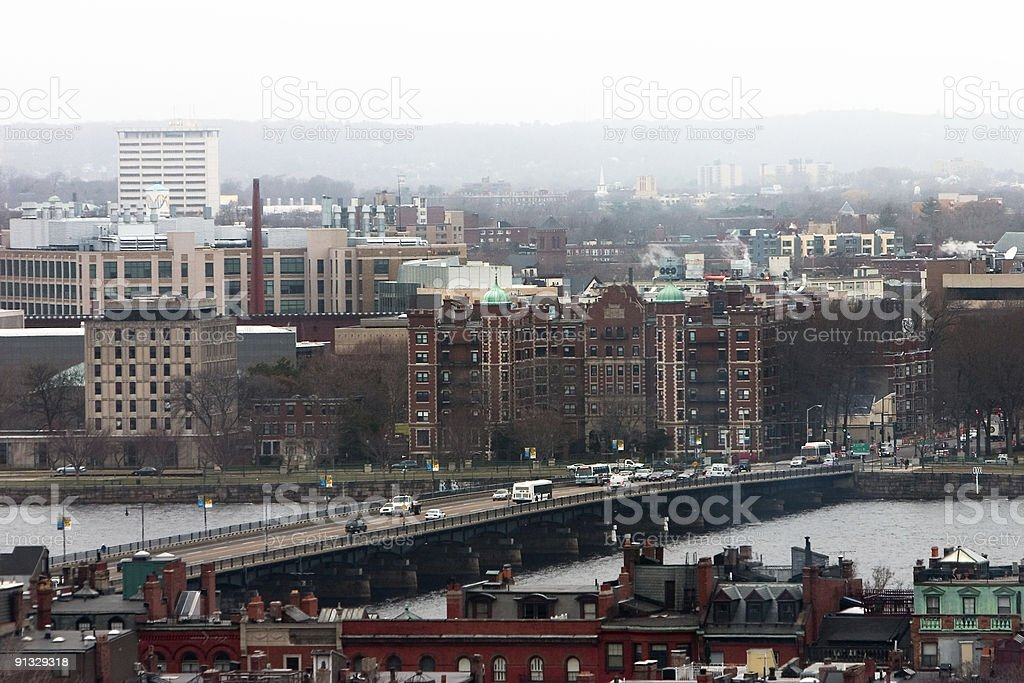 Classic Boston royalty-free stock photo