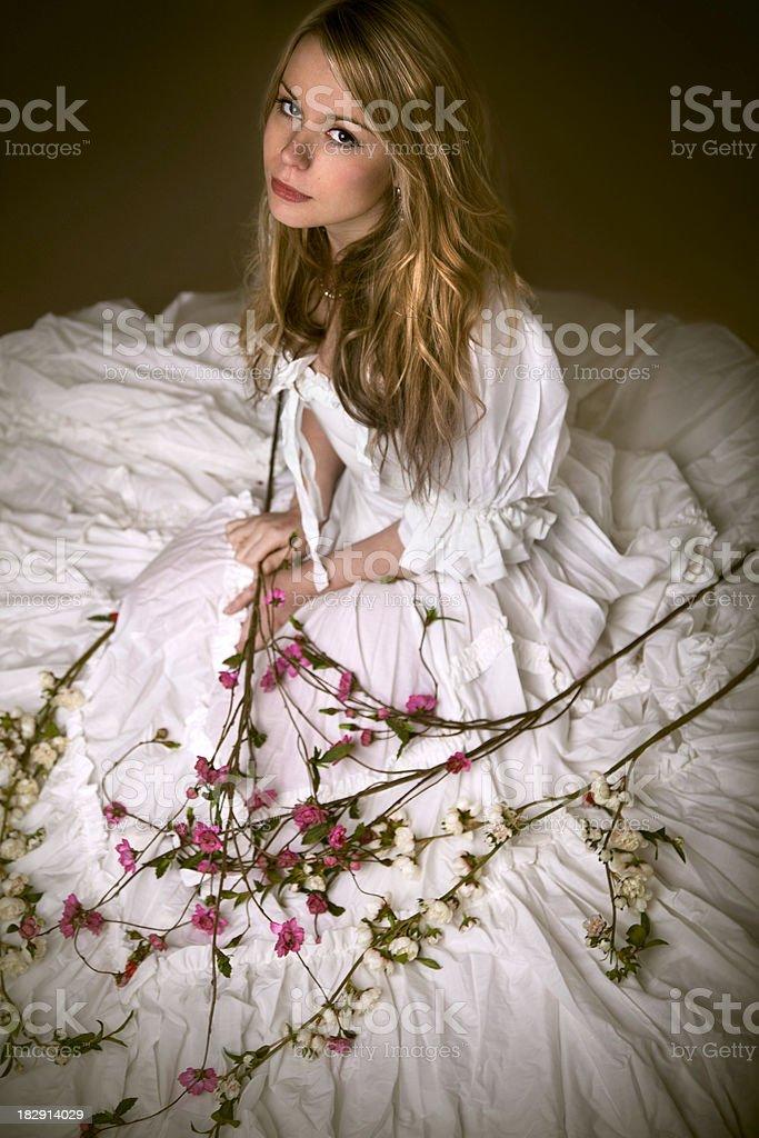 Classic bride royalty-free stock photo