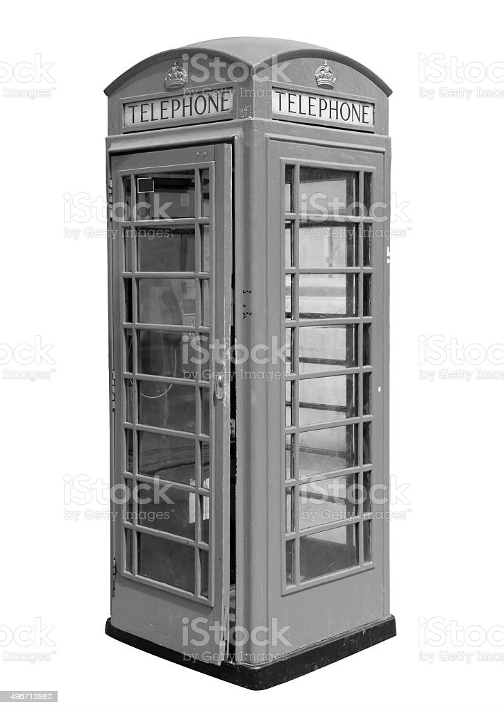 Classic British Phone Booth In London Uk Stock Photo More