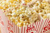 Classic Buttery Movie Theater Popcorn with Salt in a Bag