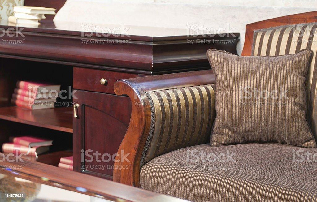 Classic cabinet furniture stock photo