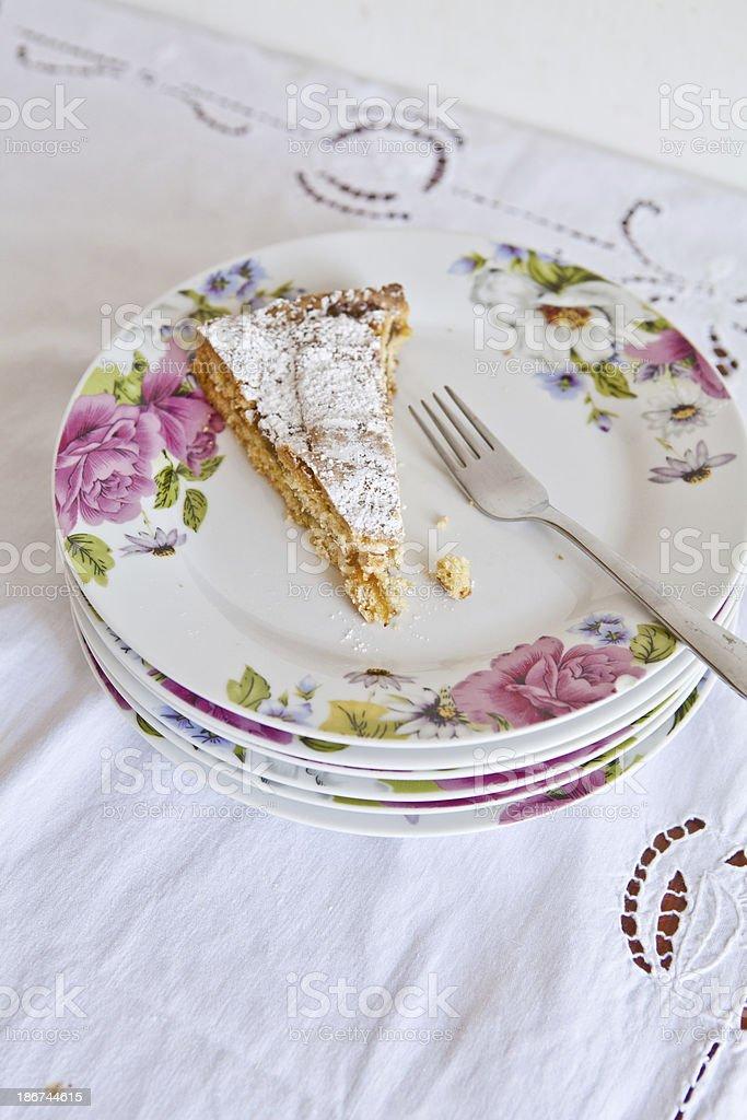 Classic Cake Slice royalty-free stock photo