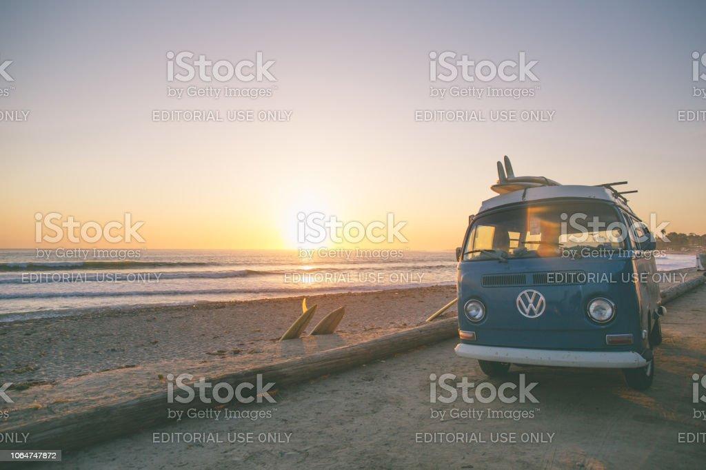 classic california surf culture stock photo  pictures  archival istock