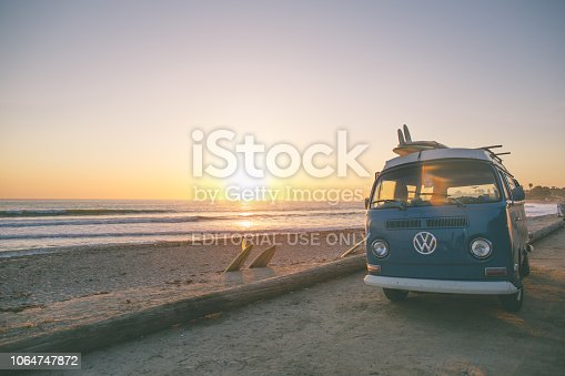 istock Classic California Surf Culture 1064747872