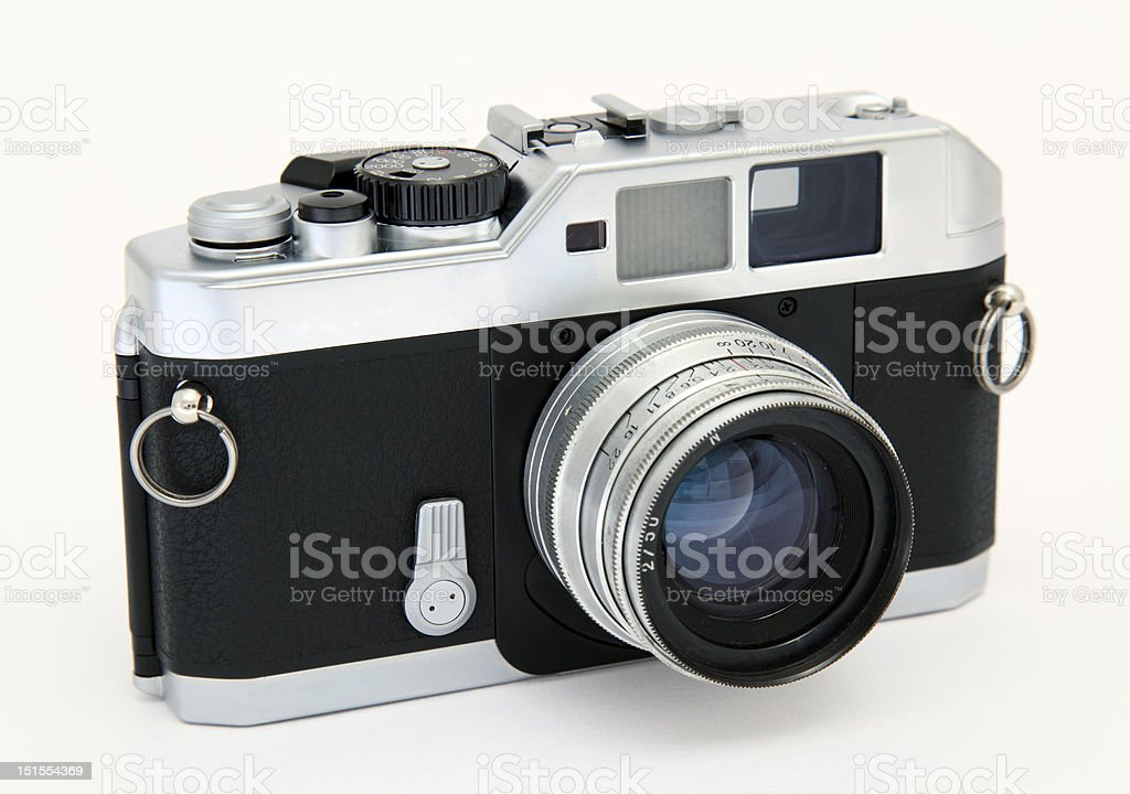 Classic camera royalty-free stock photo