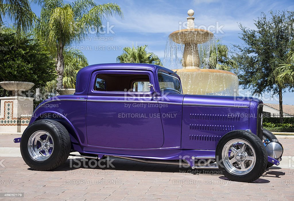 Classic Car - 1932 Ford Coupe stock photo