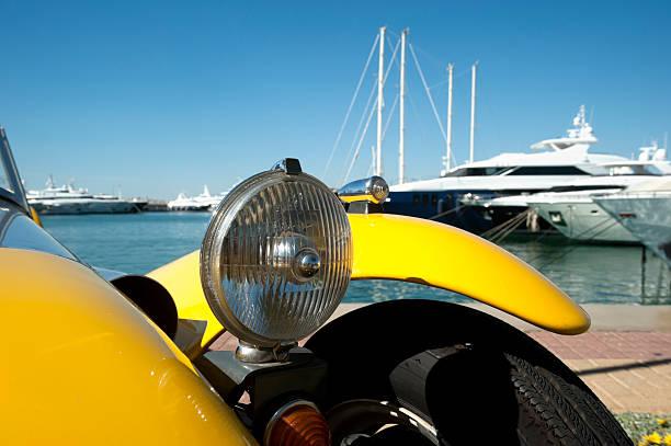 Classic car-detail – Foto