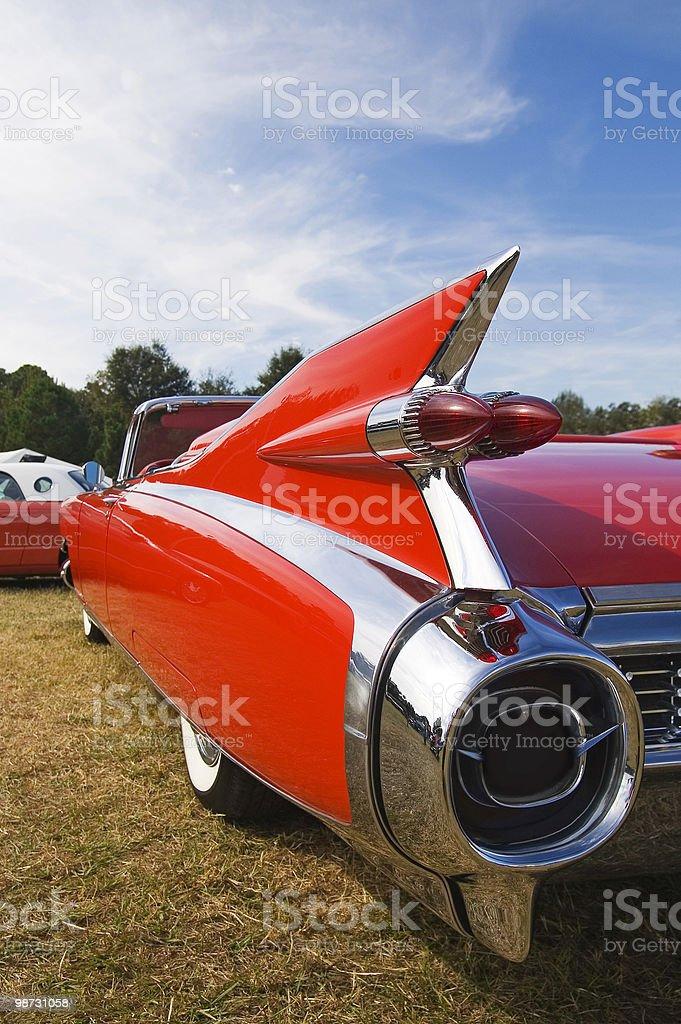 Classic Car Fin stock photo