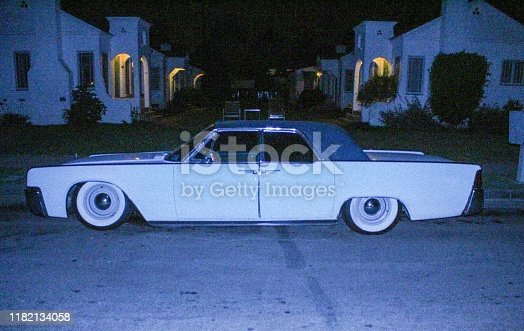 Classic Lincoln Continental in Santa Barbara, CA.