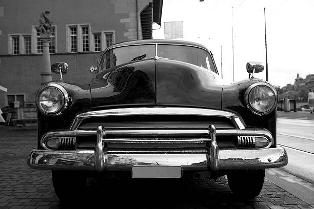 Classic Car Old Europe stock photo