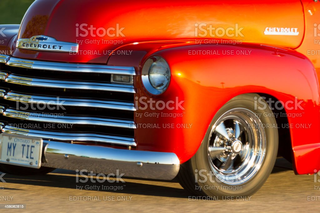 Classic Car On Display At The 11th Annual Retrofest stock photo