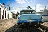 Classic car on Regla island, Cuba.