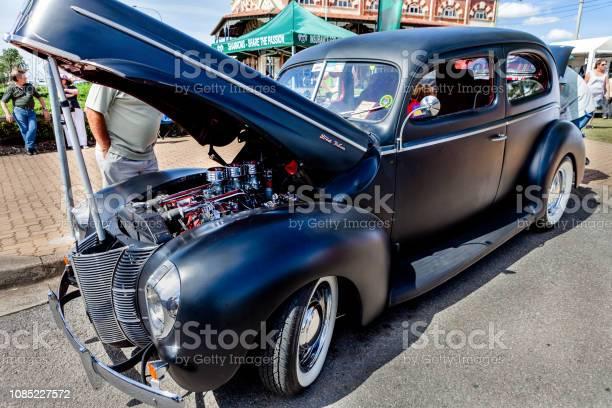 Classic car show in Kurri Kurri, Australia.