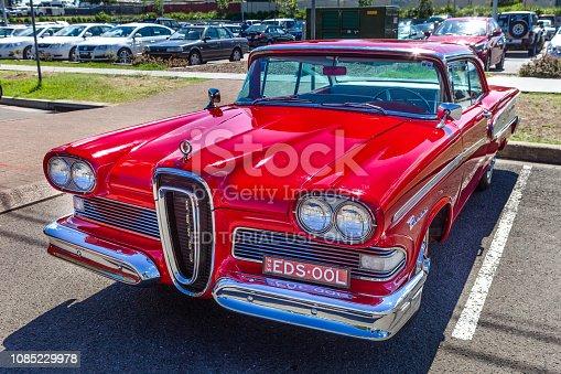 istock Classic car show in Kurri Kurri, Australia. 1085229978