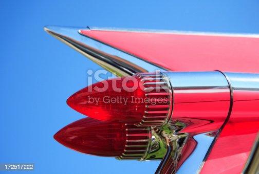 istock Classic Car Tail Fin 172517222